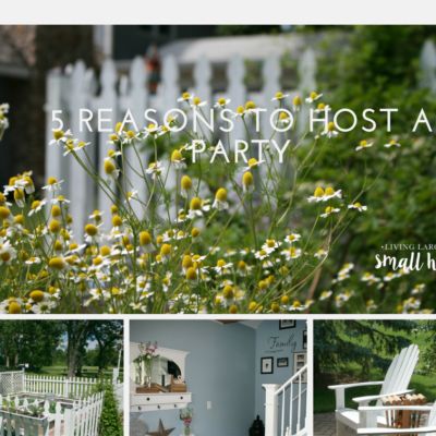 5 Reasons To Host a Party!