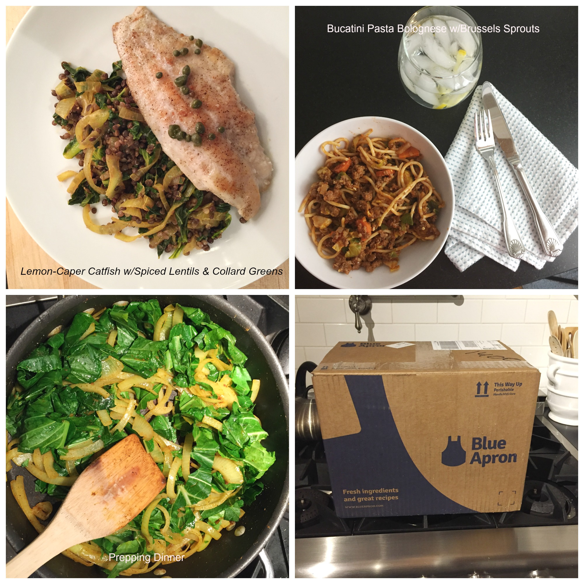 Blue apron bucatini - Two Things I M Doing In 2017 To Create Less Stress Living Large In A Small House