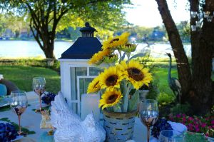 Autumn Alfresco Tablescape