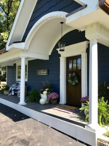 Small House Front Porch