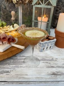 Salted Carmel Apple Martini