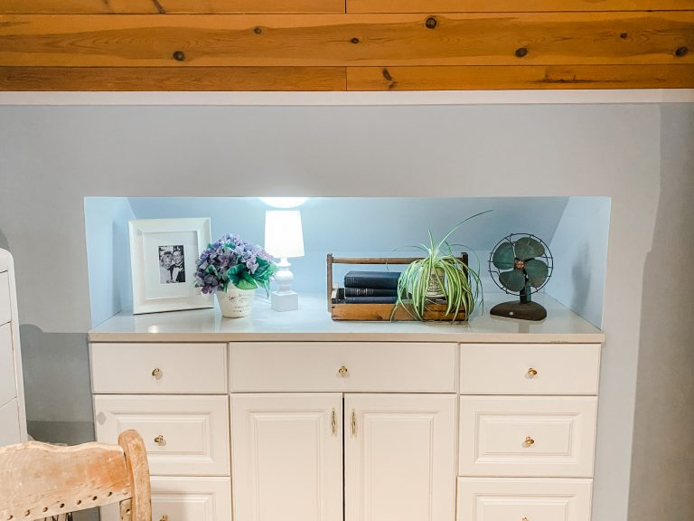 Learn How to Make a Dresser that Doesn't Take up any Square Footage