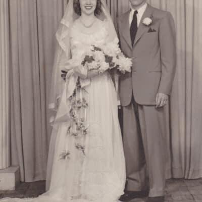 An Intimate Backyard Wedding Love Story