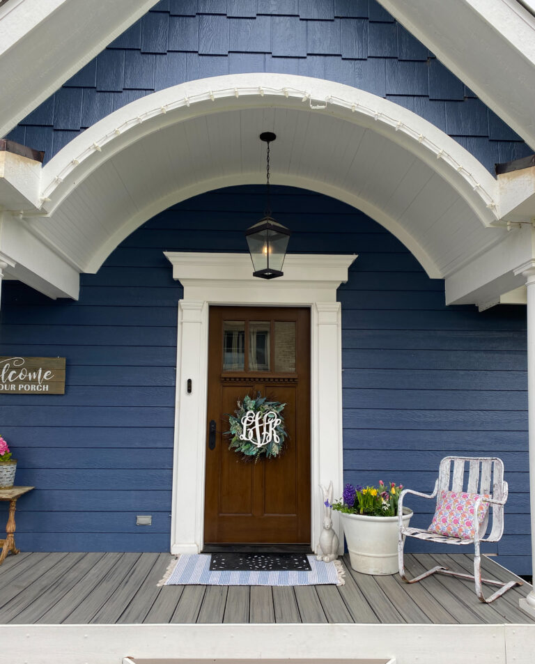 How to Refresh your Front Door for Spring