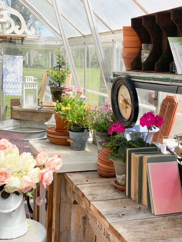 Greenhouse Potting Bench