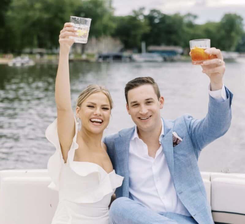 Wedding Boat Ride
