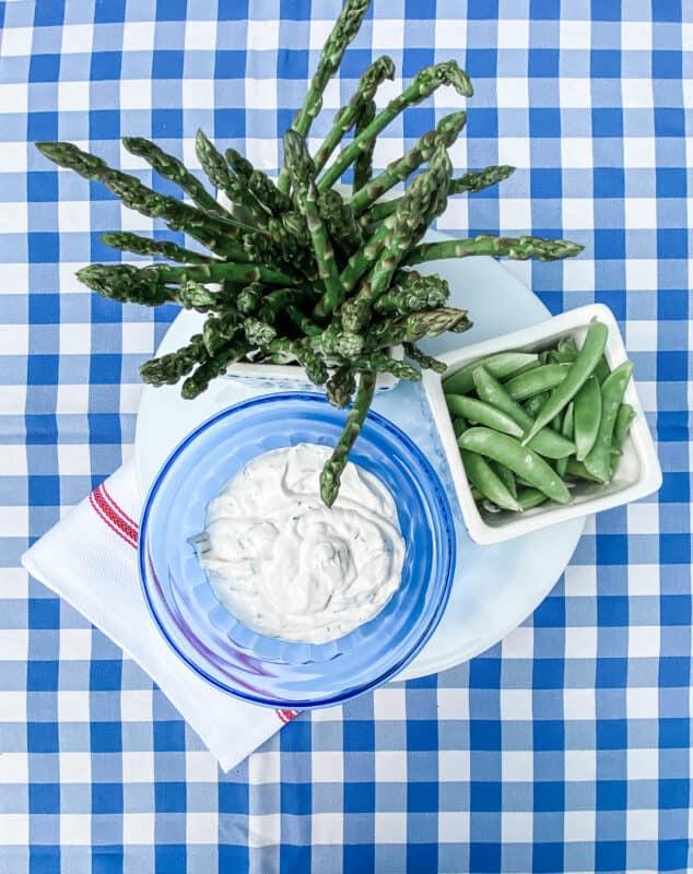Herb Dip with Veggies