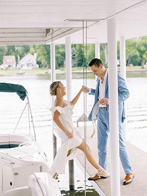 wedding-boat-ride