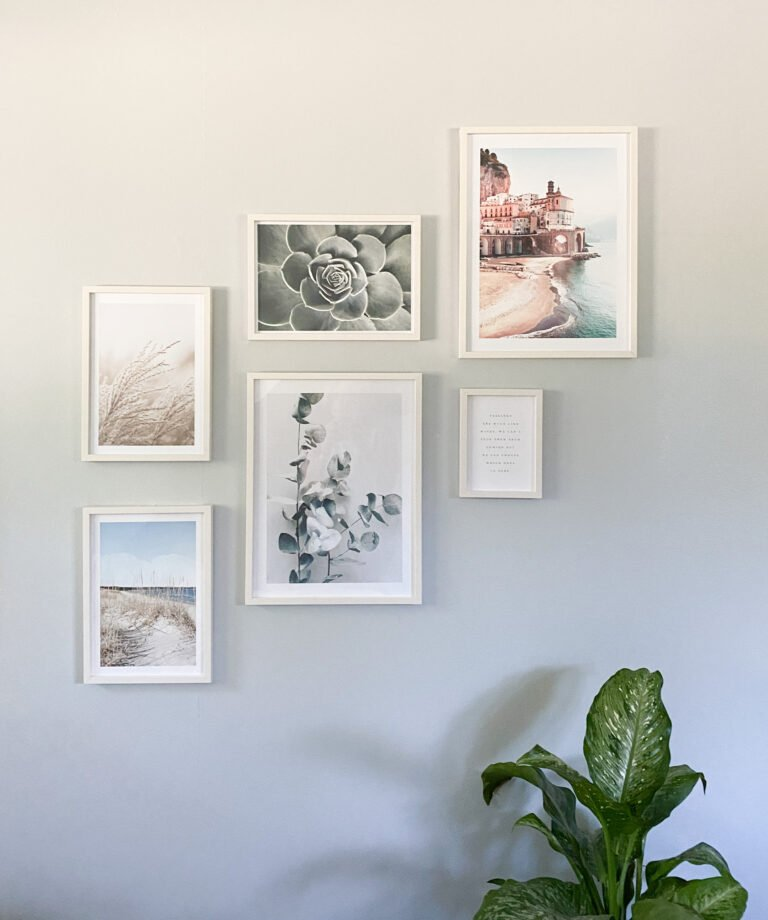 We are Refreshing a Bedroom with a Wall Gallery