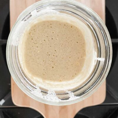 The Easiest Way to Make Sourdough Starter
