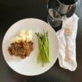 The Best Beef Bourguignon. My version of Julia Child's Beef Bourguignon